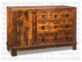 Maple Barrelworks Sideboard 54.5''W x 36.25''H x 18.5''D With 1 Wood Door