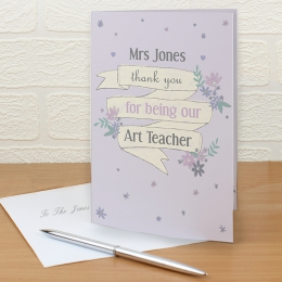 Greetings cards by recipient personalised greeting cards by recipient teacher m4hsunfo