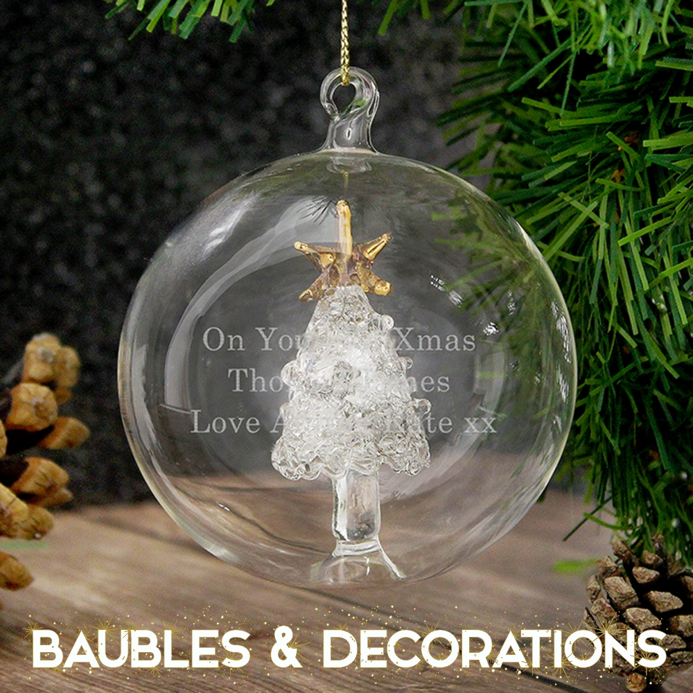 Baubles & Decorations