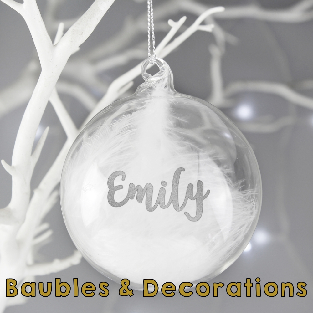 Baubles & Decorations