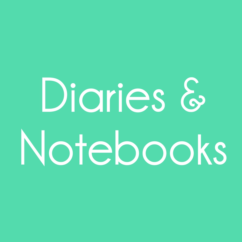 Diaries & Notebooks