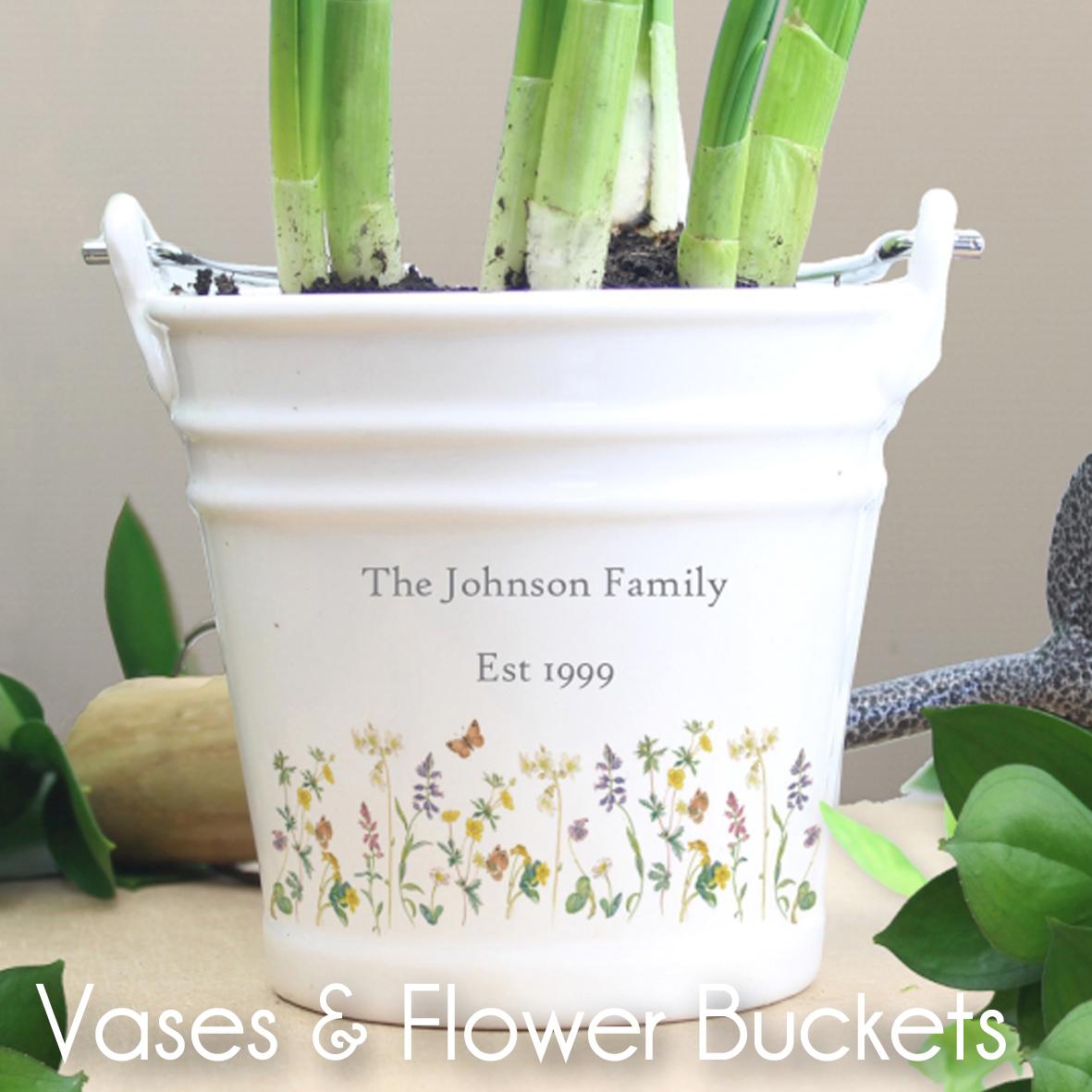 Vases & Flower Buckets