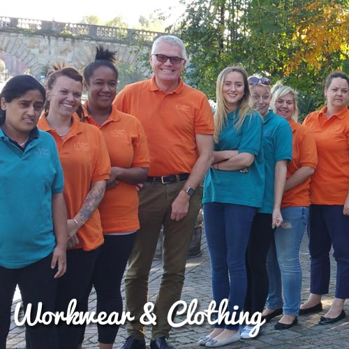 Branded clothing and workwear