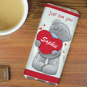 Personalised Me To You Big Heart Chocolate Bar From Something Personal