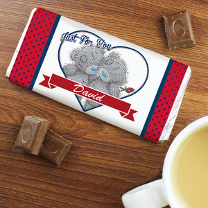 Personalised Me To You Couple Chocolate Bar From Something Personal