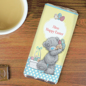 Personalised Me To You Easter Chocolate Bar From Something Personal