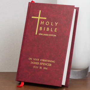 Personalised Bible From Something Personal