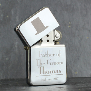 Personalised Father of the Groom Lighter From Something Personal
