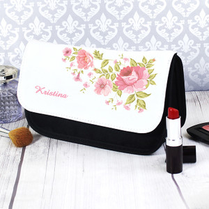 Personalised Pretty Rose Make Up Bag From Something Personal