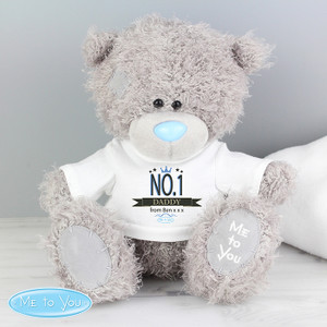 Personalised Me To You Bear With No.1 T-Shirt From Something Personal