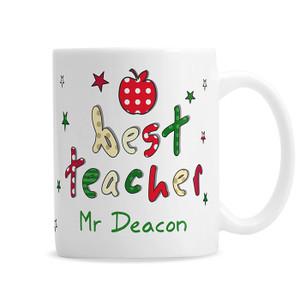 Personalised Teacher Mug From Something Personal