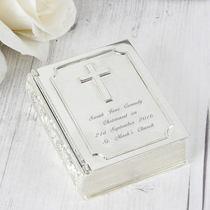 Personalised Bible Trinket Box From Something Personal