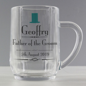 Personalised Decorative Wedding Male Tankard From Something Personal