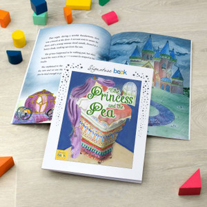 Personalised The Princess and The Pea Personalised Fairy Tale Book From Something Personal