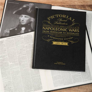 Personalised Napoleonic Wars: From Trafalgar to Waterloo 200th Anniversary Newspaper Book From Something Personal