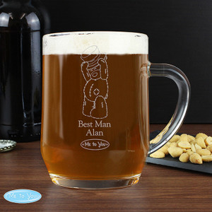 Personalised Me To You Engraved Male Wedding Tankard From Something Personal