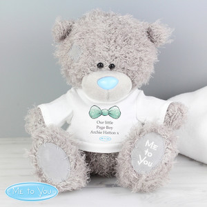Personalised Me To You Page Boy Bear With T-Shirt From Something Personal