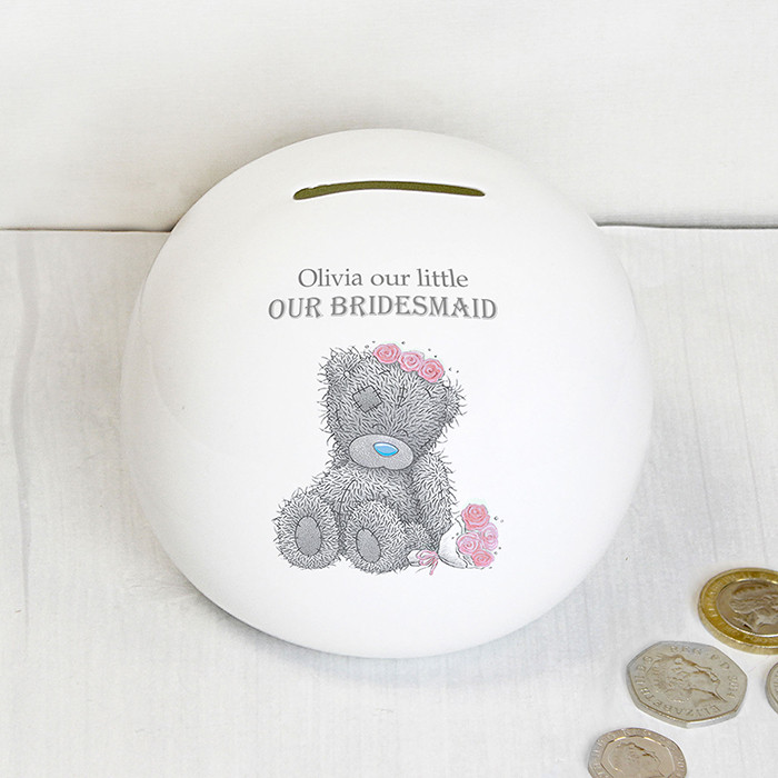 Me To You Girls Wedding Money Box Bridesmaid Flower Girl Gifts