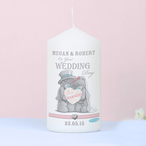 Personalised Me To You Wedding Couple Candle From Something Personal