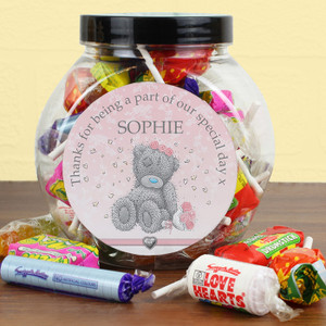 Personalised Me To You Girls Wedding Sweet Jar From Something Personal