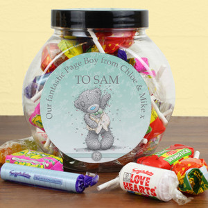Personalised Me To You Male Wedding Sweet Jar From Something Personal
