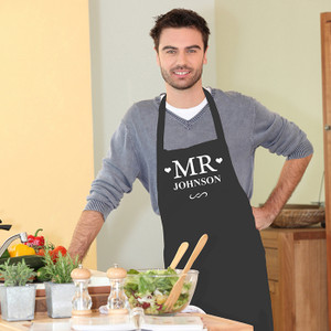 Personalised Mr Apron From Something Personal