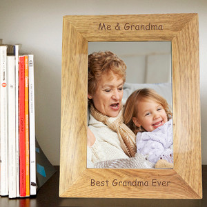 Personalised Wooden Frame From Something Personal