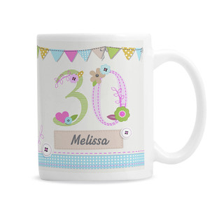 Personalised Birthday Craft Mug From Something Personal