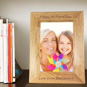 Personalised Wooden Photo Frame From Something Personal