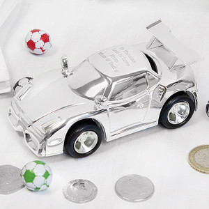 Personalised Racing Car Money Box From Something Personal