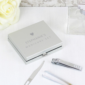 Personalised Initials Manicure Set From Something Personal