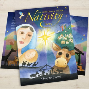 Personalised The Little Donkey & The Nativity Story From Something Personal