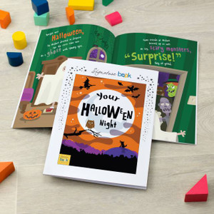 On Halloween Night Personalised Book From Something Personal