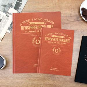 Personalised Horse Racing Newspaper Book From Something Personal