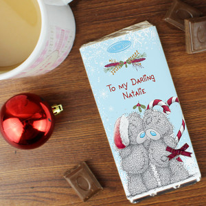 Personalised Me To You Couple Christmas Chocolate Bar From Something Personal