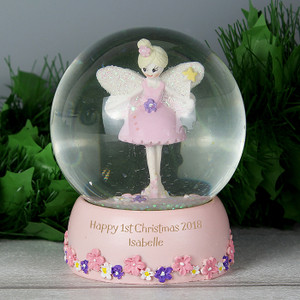 Personalised Fairy Snow Globe From Something Personal