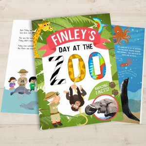 Personalised My Day At The Zoo Book From Something Personal