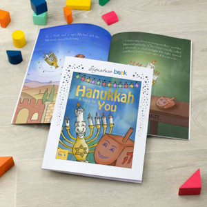 Personalised Hanukkah Story Book From Something Personal