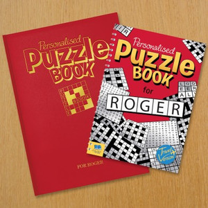 Personalised Puzzle Book From Something Personal