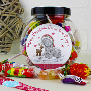 Personalised Me To You Reindeer Sweet Jar From Something Personal
