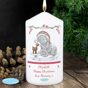 Personalised Me To You Reindeer Candle From Something Personal