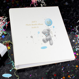 Personalised Me To You Blue Balloon Album With Sleeves From Something Personal