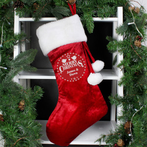 Personalised Christmas Wishes Stocking From Something Personal