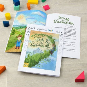 Personalised Jack And The Beanstalk Book From Something Personal