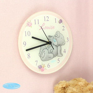 Personalised Me To You Glass Clock From Something Personal