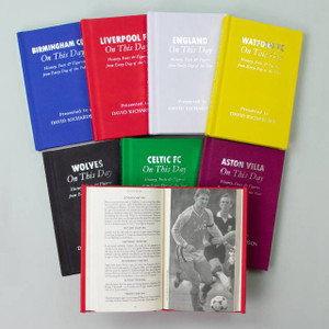 Personalised Football On This Day Book From Something Personal