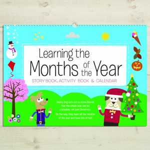 Personalised Months Of The Year Activity Book From Something Personal