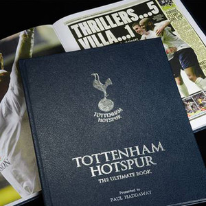 Personalised Tottenham Hotspur: The Ultimate Book From Something Personal