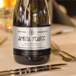 Personalised Authentic Label Prosecco From Something Personal