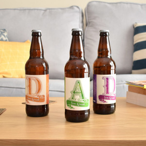 Personalised Beer 3 Pack D-A-D Set From Something Personal